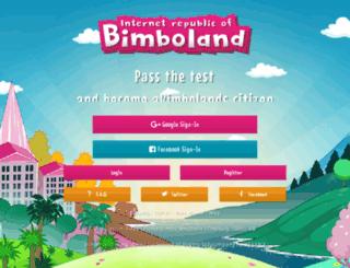 bimbolands.com screenshot