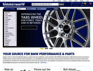 bimmerworld.com screenshot