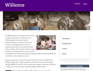 bimo.williams.edu screenshot