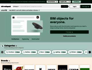 bimobject.com screenshot