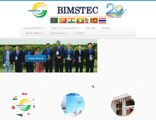 bimstec.org screenshot
