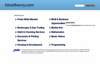 bimztheory.com screenshot