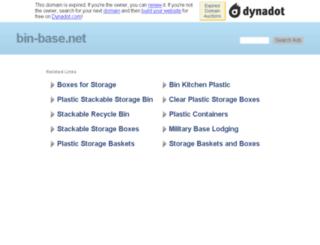 bin-base.net screenshot