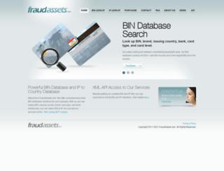bin2country.com screenshot