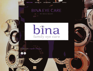binaeyecare.com screenshot