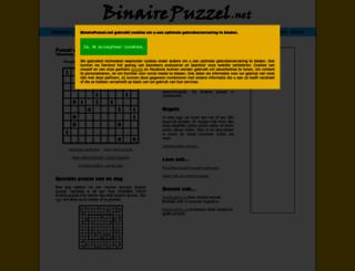 binairepuzzel.net screenshot