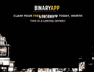 binaryapp.net screenshot