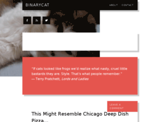 binarycat.com screenshot