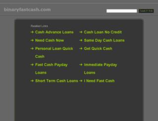 binaryfastcash.com screenshot