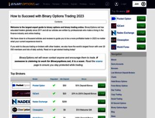 binaryoptions.net screenshot