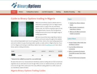 binaryoptions.ng screenshot