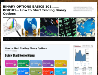 binaryoptionsbasics101.com screenshot