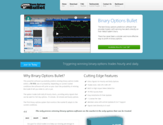 binaryoptionsbullet.com screenshot