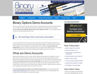 binaryoptionsdemoaccounts.com screenshot