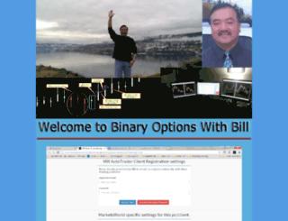 binaryoptionswithbill.org screenshot