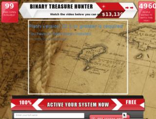binarytreasurehunter.com screenshot