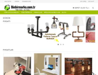 binbirmarka.com.tr screenshot