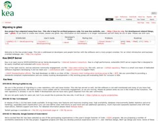 bind10.isc.org screenshot