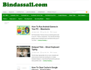 bindassall.com screenshot