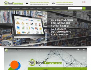 bindcommerce.com screenshot