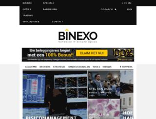 binexo.nl screenshot