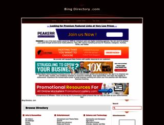 bing-directory.com screenshot