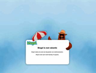 bingel.be screenshot