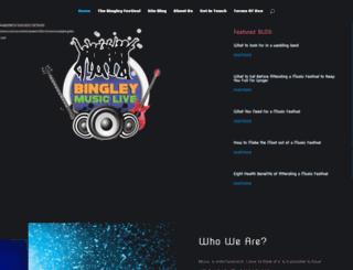 bingleymusiclive.com screenshot