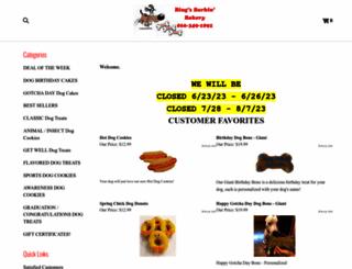 bingsbarkinbakery.com screenshot