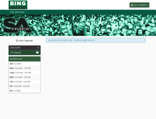 bingtickets.universitytickets.com screenshot