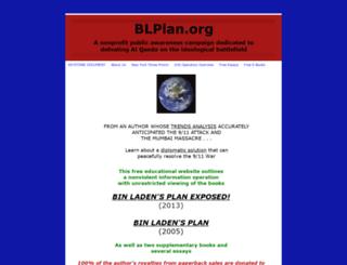 binladensplan.com screenshot