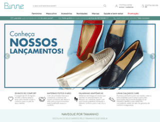 binne.com.br screenshot