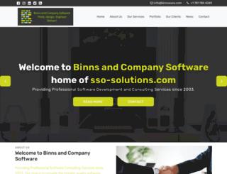 binnsware.com screenshot