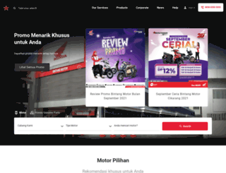 bintangmotor.com screenshot