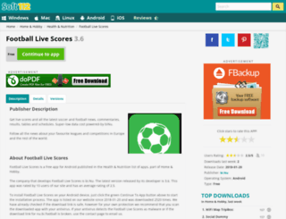 binu-football-soccer-results.soft112.com screenshot