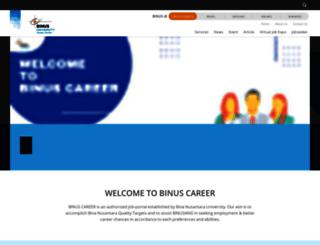 binuscareer.com screenshot