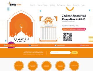 binuscenter.com screenshot