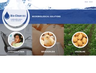 bio-clean.nl screenshot