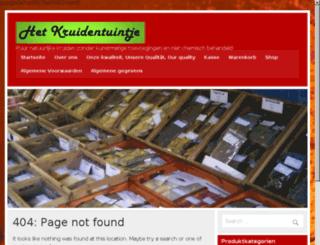 bio-krauter.de screenshot