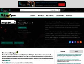 bio.biologists.org screenshot
