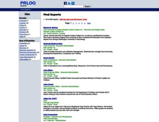 bio.prlog.org screenshot