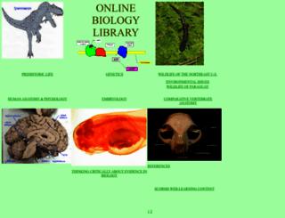 bio.sunyorange.edu screenshot