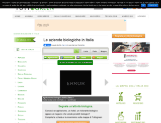 bio.tuttogreen.it screenshot