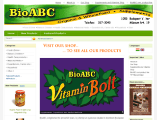 bioabc.hu screenshot