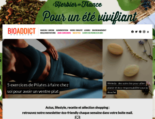 bioaddict.fr screenshot
