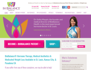 biobalancehealth.com screenshot