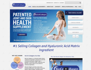 biocellcollagen.com screenshot
