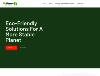 biocement.com screenshot