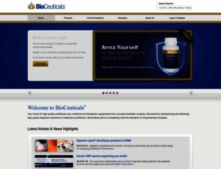 bioceuticals.com.au screenshot