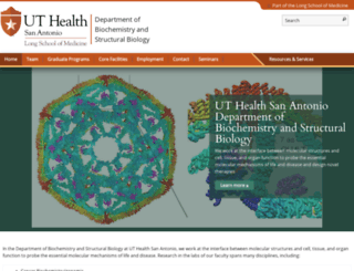 biochem.uthscsa.edu screenshot